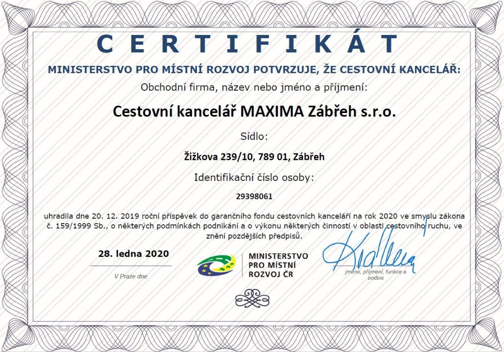 certifikát_maxima